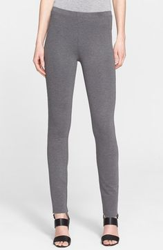 Donna Karan New York Mélange Jersey Slim Fit Pants available at #Nordstrom