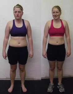 a young woman's results after 6 weeks of cross fit and paleo (whatever that is)
