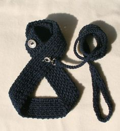 Navy Blue DOG harness, Pets Harness, Friendly Dog Harness - Small dog harness This dog harness is friendly handmade from pure cotton . Crochet adjustable harness for your pet. ********Please be aware that this is completely handwork so the items can not be identical. The size and color can also affect the impression based on the picture on my listing. BUTTONS or METAL ACCESSORIES MAY VARY********* Before ordering please check : ********SIZE CHART******** SIZE................NECK.............
