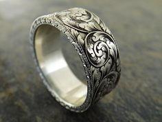 Incredible - Silver Rings For Men Wedding Jewelry, Gold Jewelry, Jewelry Rings, Jewelery, Jewelry Accessories, Fine Jewelry, Jewelry Design, Wedding Rings, Gold Wedding