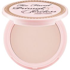 Too Faced Primed & Poreless Pressed Powder (€27) ❤ liked on Polyvore featuring beauty products, makeup, face makeup, face powder, beauty, fillers, faces, accessories, compact face powder and too faced cosmetics
