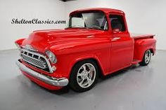 Image result for red chevy 57 truck