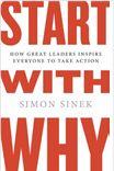 Simon Sinek, speaker en TED argumentando por dónde empezar el storytelling, ahora en libro,