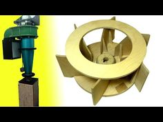 Homemade dust collector upgrades (Part 1): New impeller - YouTube