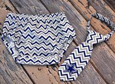 0bed83f9c2da Diaper Cover and Little Guy Tie - Dallas Cowboys - Blue Gray White Chevron  Little Guy Tie and Diaper Cover - Dallas Cowboys Tailgate, Birthday Party,  ...