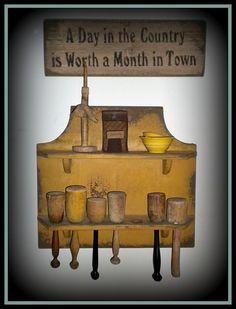 Nice collection of old wood mashers. Primitive Signs, Primitive Kitchen, Primitive Antiques, Country Primitive, Primitive Shelves, Country Decor, Country Life, Primitive Furniture, Kitchen Collection