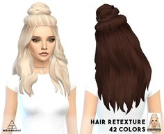 Miss Paraply: Vellichor hairstyle retextured - Sims 4 Hairs - http://sims4hairs.com/miss-paraply-vellichor-hairstyle-retextured/: