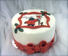 Christmas cake! Jouluinen kakku! www.kakkuhelmi.fi