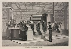 #OTD 4 September 1882 - Thomas Edison opens the first commercial power plant on Pearl Street in New York, lighting a square mile of lower Manhattan. Coal-powered steam engines drove direct current dynamos, which powered 400 electric street lamps. #HistSci  © SSPL/Getty Images
