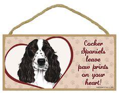 Cocker Spaniel Dog Breeds Dog Sign Dog Breed by TheCarolinaTrader #cockerspanielsign #woodensign