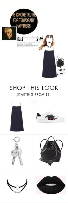 """""""Untitled #109"""" by ulzzwng ❤ liked on Polyvore featuring Wood Wood, Gucci and MICHAEL Michael Kors"""
