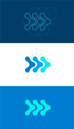 Logo breakdown/process for a Pain Management business, designed by Robot Eats…