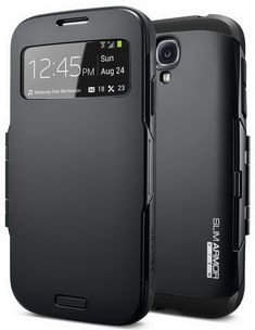 Best Samsung S4 Case - SPIGEN SGP Slim Armor View Case for Samsung Galaxy S4