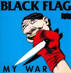 This is the song 'My War' from Black Flag's album Rise Above (2002) Vocals: Henry Rollins