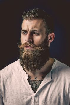 #beard #facialhair #stash #men #rugged #manly #woodsman #lumberjack | Raddest Men's Fashion Looks On The Internet: http://www.raddestlooks.org