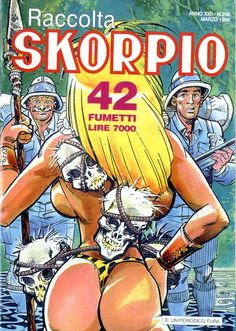 Fumetti EDITORIALE AUREA, Collana SKORPIO RACCOLTA n°298 MARS 1999
