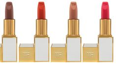 Tom Ford Beauty Spring 2014 Lip Color Conditioner: Bitter Sweet, Firecracker, In the Buff, Incorrigible