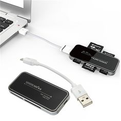 USB 2.0 Multi High Speed Memory Card Reader for SDHC Micro SD TF M2 MS PRO