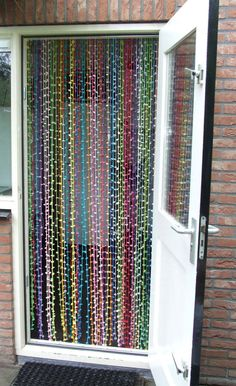 I always had a beaded curtain. Now Bry and I need one for our house