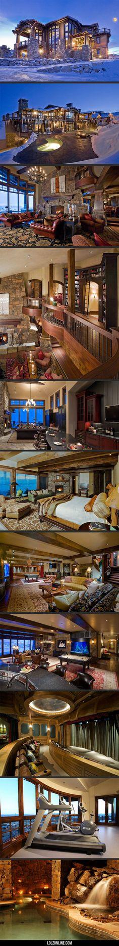 Luxury ski dream house… #lol