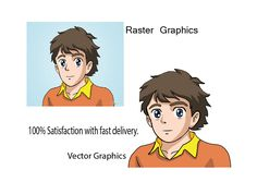 Hi,I will convert raster to vector within 2 hours - - raster to vector res to high res image to high image graphics to vector graphics low to high image Raster To Vector, Vector Icons, Vector Graphics, Vector Art, T Race, Vector Design, Sewing Projects, Illustration Art, Candy Companies