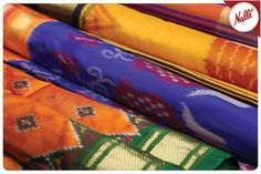 COLOURS OF JOY! Each fabric so vibrant and contrasting, you'd never want to miss…