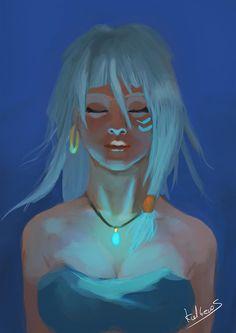 """Princess Kidagakash from """"Atlantis"""" - kalberoos"""
