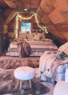 Cozy bohemian teenage girls bedroom ideas (6)
