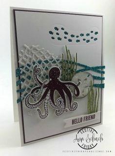 sparkly friend card