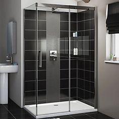 Cooke & Lewis Carmony Rectangular RH Shower Enclosure,