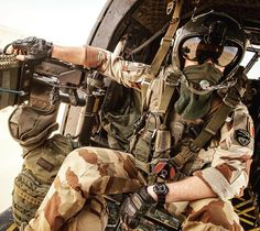 "French airmobile operation, operation codename ""Barkhane"", 2017, Northern Mali."