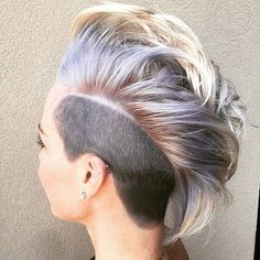 WEBSTA @ nothingbutpixies - A cool style on @tiffanyleegaston thank you for the tag.@tydyeshair