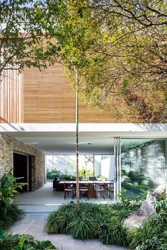 Casa Lara in Brazil Features Hidden Spaces and a Rooftop Party Area Rooftop Party, Rooftop Terrace, Terrace Garden, Hidden Spaces, High Walls, Villa, Sweet Home, Architect Design, Destinations