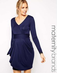 mama.licious | Mamalicious Long Sleeve Dress #mamalicious #maternity #dress
