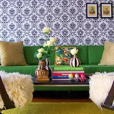 I like this wallpaper, but I think I would get tired of it.  The Abe Lincoln bust, however... I could never tire of. #abe