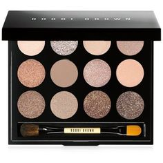 Bobbi Brown Sandy Nudes Shimmering Sands Eye Palette (£45) ❤️ liked on Polyvore