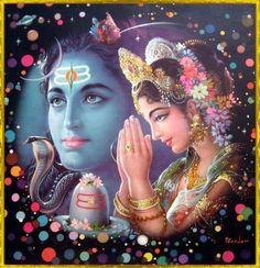 * Shiva and Parvati