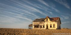 Kolmanskop: why to visit Namibia's ghost town - Roxanne Reid Ghost Towns, Mansions, House Styles, Manor Houses, Villas, Mansion, Palaces, Mansion Houses, Villa