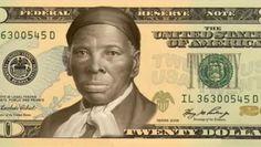 """Harriet Tubman, cette ancienne esclave devenue militante abolitionniste a aidé de nombreux esclaves a s'évader. C'est ainsi qu'elle était surnommée """"moïse du peuple noir"""". Elle sera la première femme, et le première femme noire a figurer sur les billets de 20 Dollars."""