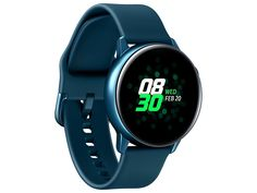 The lightweight, yet durable Samsung Galaxy Watch Active understands the way you work out. With auto workout tracking, you& have the power to reach new goals. Plus, a suite of apps helps you monitor stress and sleep while you stay connected. From Samsung. Smartwatch, Active Watch, Bracelet Silicone, Gear S3, Samsung Galaxy, Galaxy S3, Wireless Charging Pad, Bluetooth Watch, Sport Watches