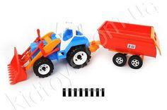Трактор з причепом http://kidtoys.com.ua/ukr2242traktor-z-prichepom
