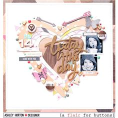 Scrapbooking with your Silhouette | layout