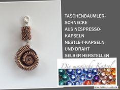 Kapsel Schmuck Anleitung - Schnecken-Taschenbaumler - die magische (Kaff...