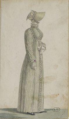 Unknown Publication, 1810,  From the Bibliothèque des Arts Décoratifs via SceneInThePast flickr.