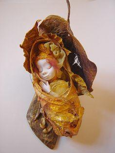 Солнечная Куколка - Kukly.eu - Авторские Куклы Татьяны Гуриной. Галерея Кукол, Мастер-Класс. Фимо, бумага. 28 см