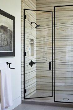 unique marble shower