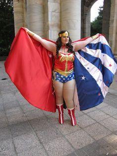 BODY POSITIVE COSPLAY APPRECIATION! (Lynda Carter's Wonder Woman Taken at Dragon Con...)