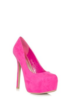 Laurence Shoes in Fuchsia - Get great deals at JustFab