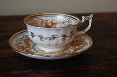 Pretty Teacup and Saucer Set