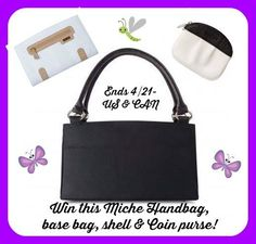 Miche Fashion Handbags Prize Pack Giveaway (Ends 04/21/14)  --->>>http://www.couponhauls.com/miche-fashion-handbags-prize-pack-giveaway/
